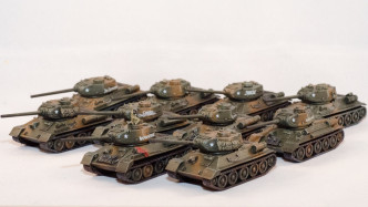 Flames of War Soviet Tanks
