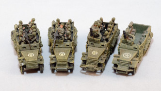 Flames of War - American - Half Tracks