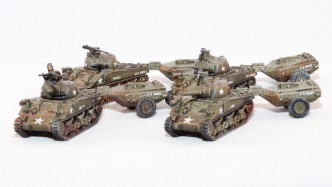 Flames of War Sherman Crocodiles