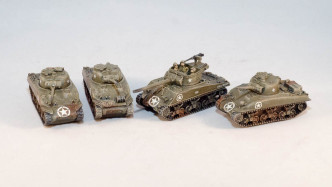 Sherman Tanks and Tank Destroyers