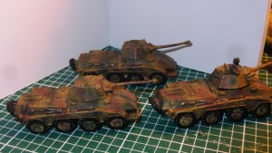 Flames of War Pumas 15mm