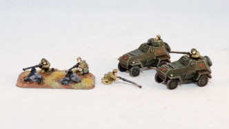 Flames of War BA-64 with Anti Tank Rifle