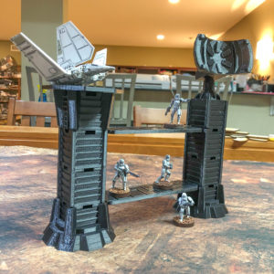 Imperial Communications Towers Wargame Terrain